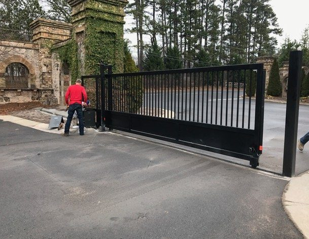Automatic Electric Gate For Security Access