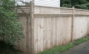 Wood Fence Company in Atlanta