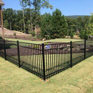 4-Foor Tall Aluminum Metal Fence
