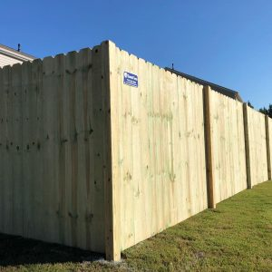 Dog Ear Privacy Fence